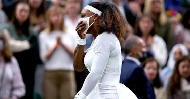 Serena Williams musste in Wimbledon verletzt aufgeben. Foto: Adam Davy/PA Wire/dpa