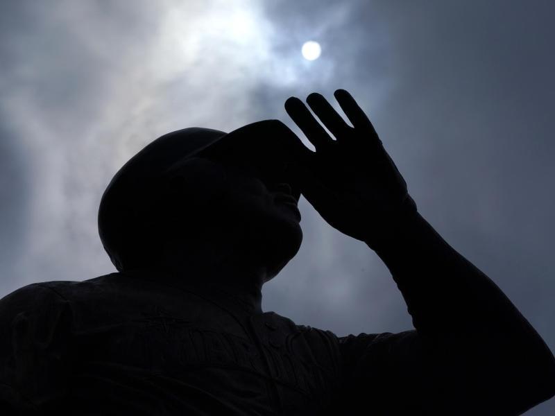 Die sengende Sonne. Foto: Ted S. Warren/AP/dpa