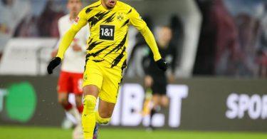 Dortmunds Jadon Sancho kehrt in die englische Heimat zurück und geht künftig für Manchester United auf Torejagd. Foto: Jan Woitas/dpa-Zentralbild/dpa