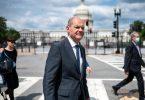 Bundesfinanzminister Olaf Scholz (SPD) ist gerade in Washington zu Besuch. Foto: Bernd von Jutrczenka/dpa