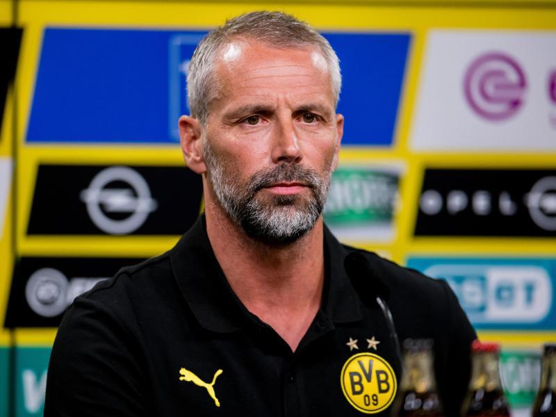 Braucht Ersatz für Jadon Sancho: Dortmunds neuer Trainer Marco Rose. Foto: Alexandre Simoes/BVB/Borussia Dortmund/dpa