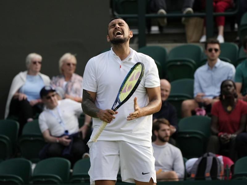 Liebling der Fans ins Wimbledon: Nick Kyrgios. Foto: Alastair Grant/AP/dpa