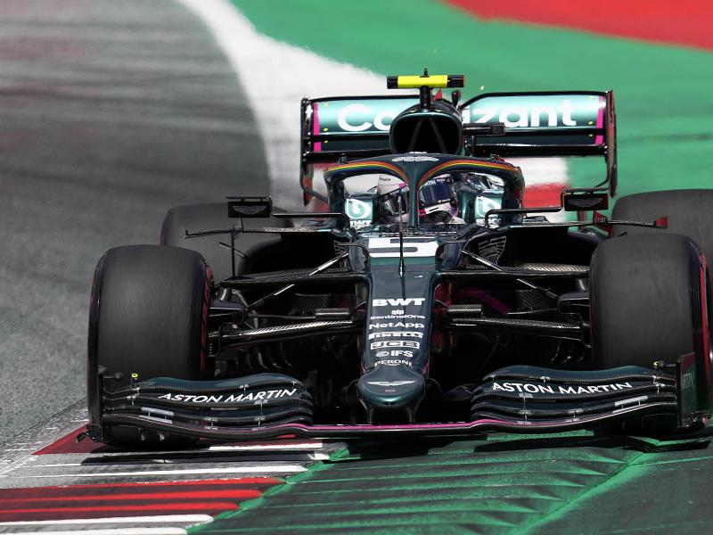 Will sich in seinem Aston Martin noch steigern: Sebastian Vettel. Foto: Darko Vojinovic/AP/dpa