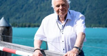Eckart Witzigmann kennt sich aus in Sachen Ess-Kultur und Etikette. 1979 wurde er im «Guide Michelin» mit drei Sternen ausgezeichnet - als erster deutschsprachiger Koch. Foto: Sven Hoppe/dpa
