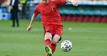 Steht in Belgiens Kader gegen Italien: Kevin De Bruyne. Foto: Laurie Dieffembacq/BELGA/dpa