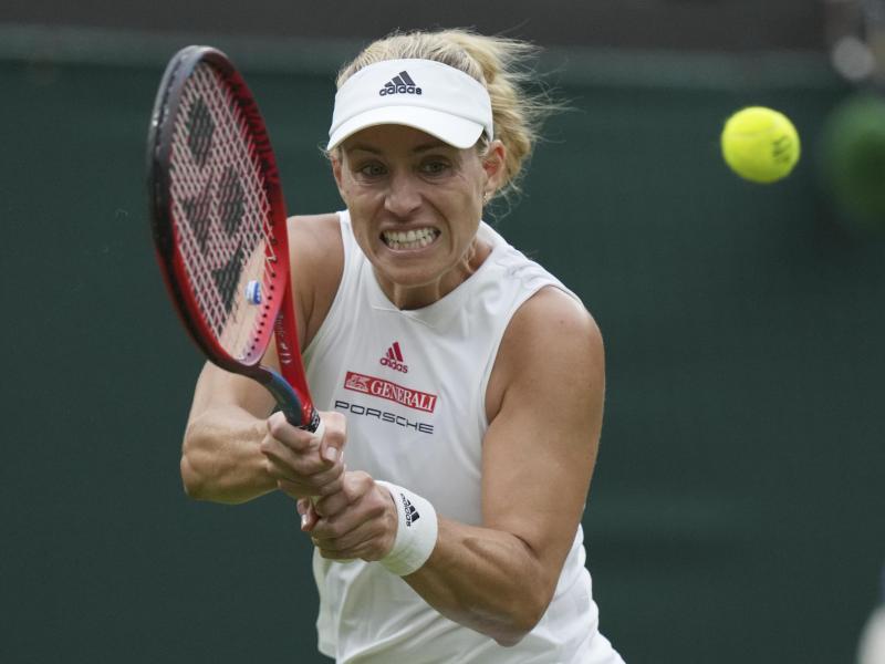 Tritt in der dritten Runde gegen Alexandra Sasnowitsch an: Angelique Kerber. Foto: Alberto Pezzali/AP/dpa