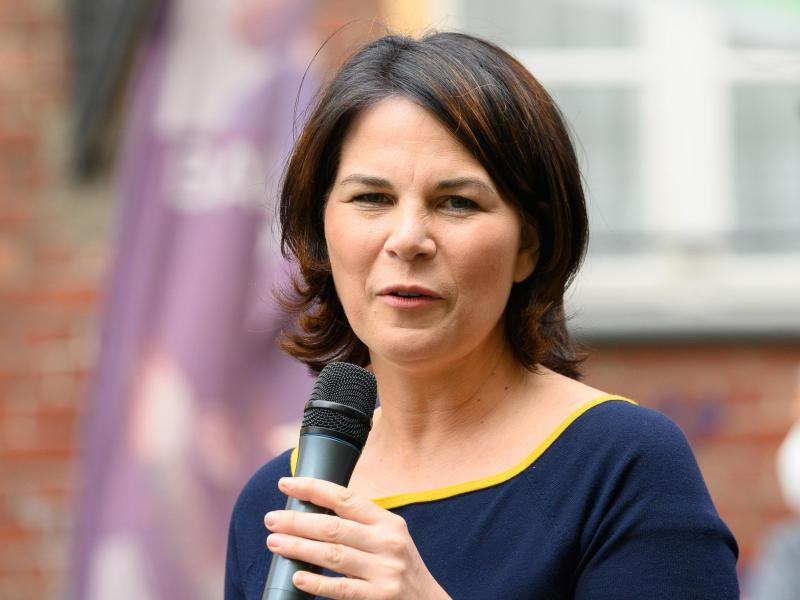 61 Prozent der Wahlbürger denken, dass die Grünen falsch entschieden haben als sie Annalena Baerbock zur Kanzlerkandidatin gewählt haben. Foto: Soeren Stache/dpa-Zentralbild/dpa