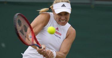 Steht in Wimbledon im Achtelfinale: Angelique Kerber. Foto: Kirsty Wigglesworth/AP/dpa