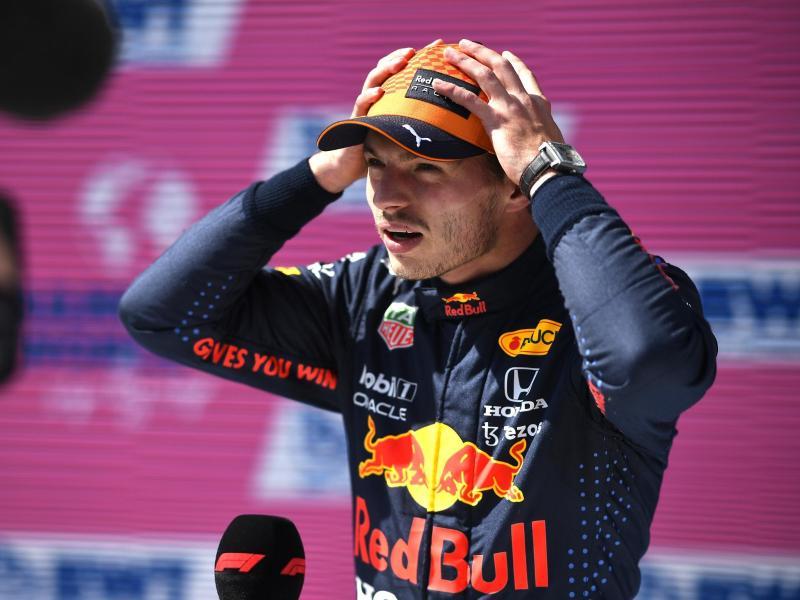Hat sich für das zweite Rennen in Österreich wieder die Pole Position gesichert: Max Verstappen. Foto: Christian Bruna/Pool EPA/AP/dpa