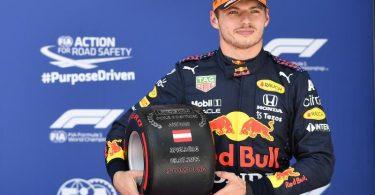 Kann mit seinem vierten Sieg in Spielberg zum alleinigen Formel-1-Rekordsieger in Österreich werden: Der Niederländer Max Verstappen. Foto: Christian Bruna/Pool EPA/AP/dpa