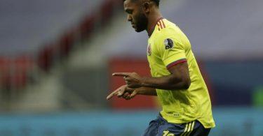 Kolumbien schafft es mit vier Elfmetertreffern ins Halbfinale - der letzte Copa-Sieg ist lange her. Foto: Silvia Izquierdo/AP/dpa