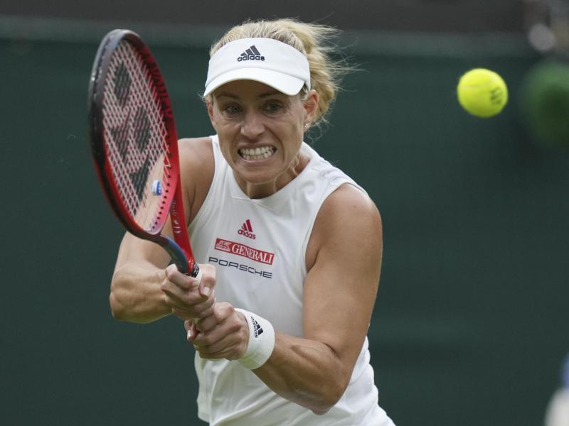 Möchte in Wimbledon ins Viertelfinale: Angelique Kerber. Foto: Alberto Pezzali/AP/dpa