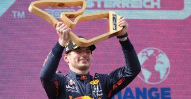 Derzeit nicht zu stoppen: Max Verstappen vom Team Red Bull Racing. Foto: Georg Hochmuth/APA/dpa