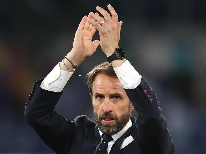 «Wir geben uns nicht damit zufrieden, dass wir im Halbfinale sind», sagt Englands Nationaltrainer Gareth Southgate. Foto: Nick Potts/PA Wire/dpa