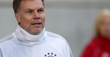 Ex-Europameister Thomas Helmer schlägt vor, den Fokus auf die EM 2024 und nicht auf die WM 2022 zu richten. Foto: Daniel Karmann/dpa