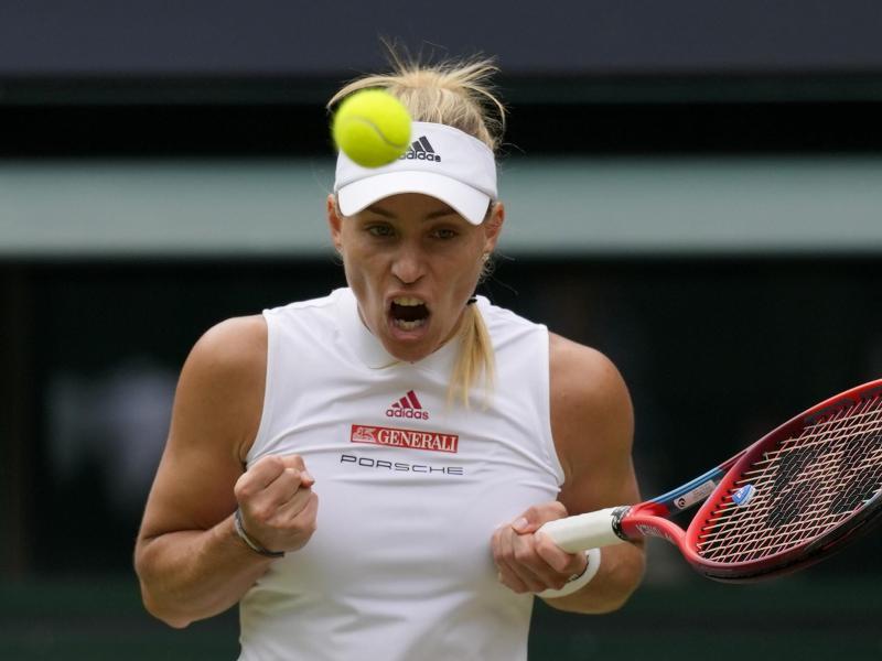 Angelique Kerber will ins Halbfinale. Foto: Kirsty Wigglesworth/AP/dpa