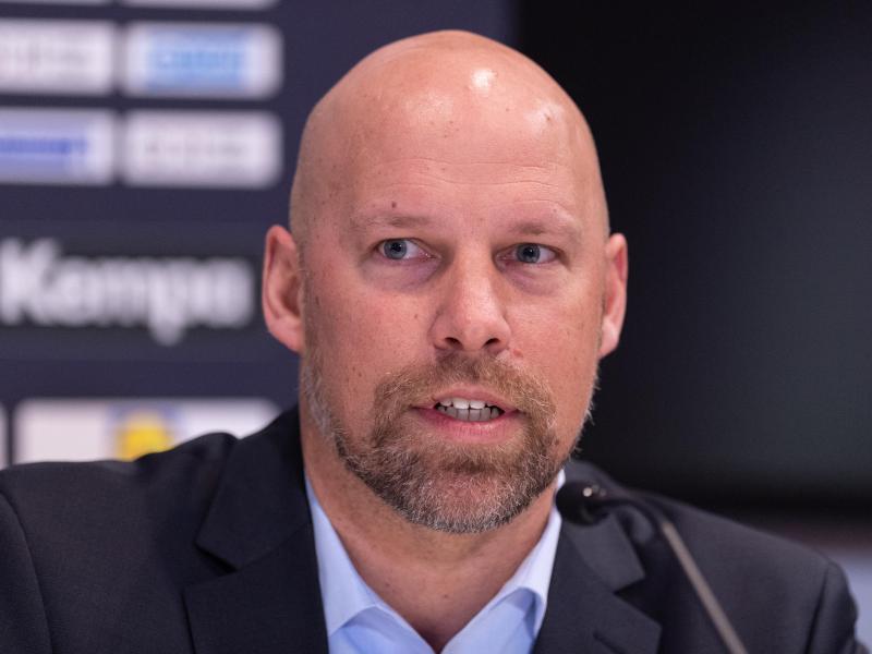 Der Sportvorstand des Deutschen Handballbundes: Axel Kromer. Foto: Robert Michael/dpa-Zentralbild/dpa
