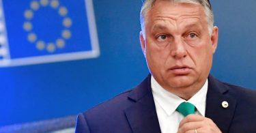 Ungarns Ministerpräsident Viktor Orban 2020 bei einemTreffen in Brüssel. Foto: John Thys/AFP Pool/AP/dpa