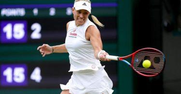 Steht in Wimbledon im Halbfinale: Angelique Kerber. Foto: John Walton/PA Wire/dpa