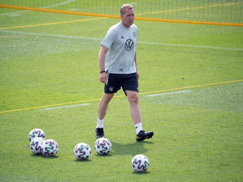 Beendet nach 17 Jahren seine Arbeit beim DFB: Torwarttrainer Andreas Köpke. Foto: Federico Gambarini/dpa