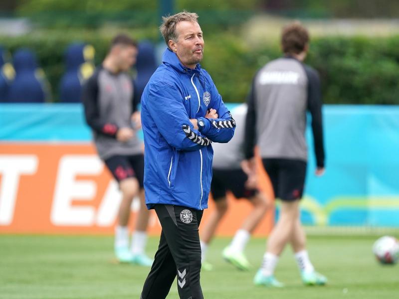 Trainer Kasper Hjulmand will mit Dänemark ins EM-Finale. Foto: Mike Egerton/PA Wire/dpa