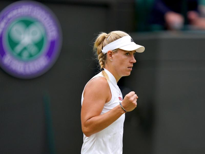 Will zum dritten Mal ins Wimbledon-Finale: Angelique Kerber. Foto: John Walton/PA Wire/dpa