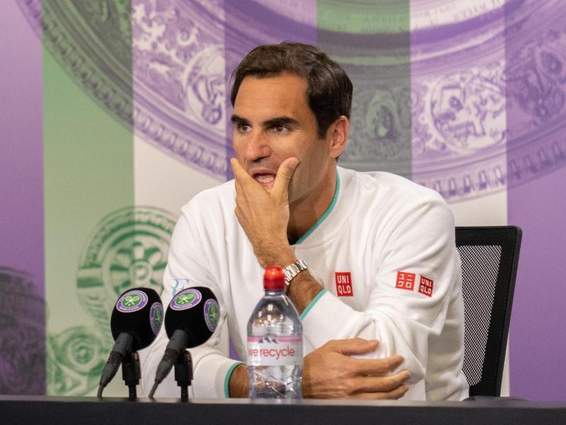 Muss das Aus in Wimbledon erst einmal sacken lassen:Roger Federer. Foto: Joe Toth/Aeltc Pool/PA Wire/dpa