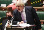 Der britische Premierminister Boris Johnson bekommt wegen der angekündigten Corona-Lockerungen viel Gegenwind. Foto: Uk Parliament/Jessica Taylor/PA Media/dpa/Archivbild