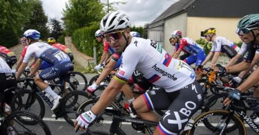 Peter Sagan fährt seinen Zielen bei der diesjährigen Tour weit hinterher. Foto: Christophe Ena/AP/dpa