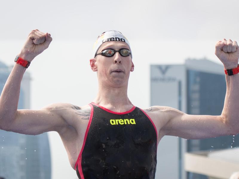 Hat Verständnis für den Zuschauer-Ausschluss: Schwimmer Florian Wellbrock. Foto: Bernd Thissen/dpa