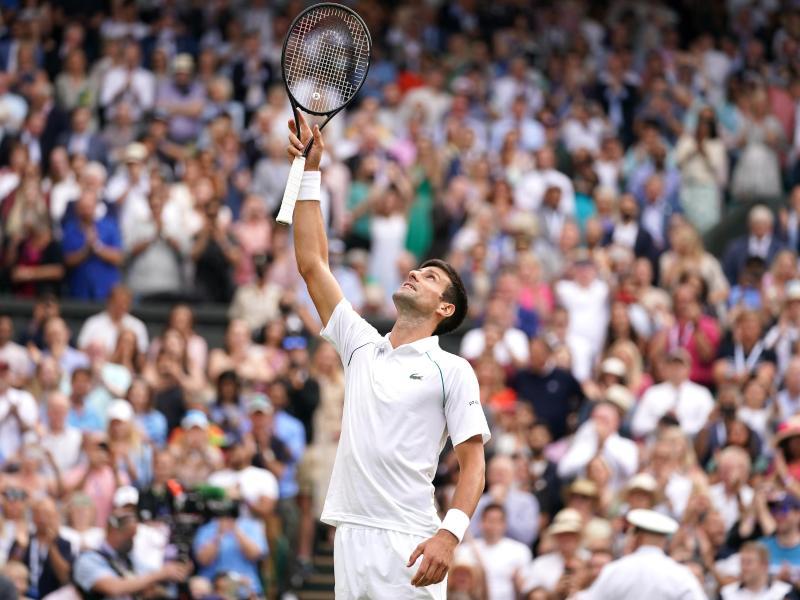 Will in Wimbledon seinen 20. Grand-Slam-Titel holen: Novak Djokovic. Foto: Adam Davy/PA Wire/dpa