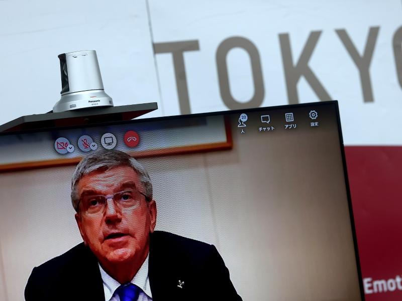 Thomas Bach ist der Präsident des Internationalen Olympischen Komitees (IOC). Foto: Behrouz Mehri/Pool Agence France Presse/AP/dpa