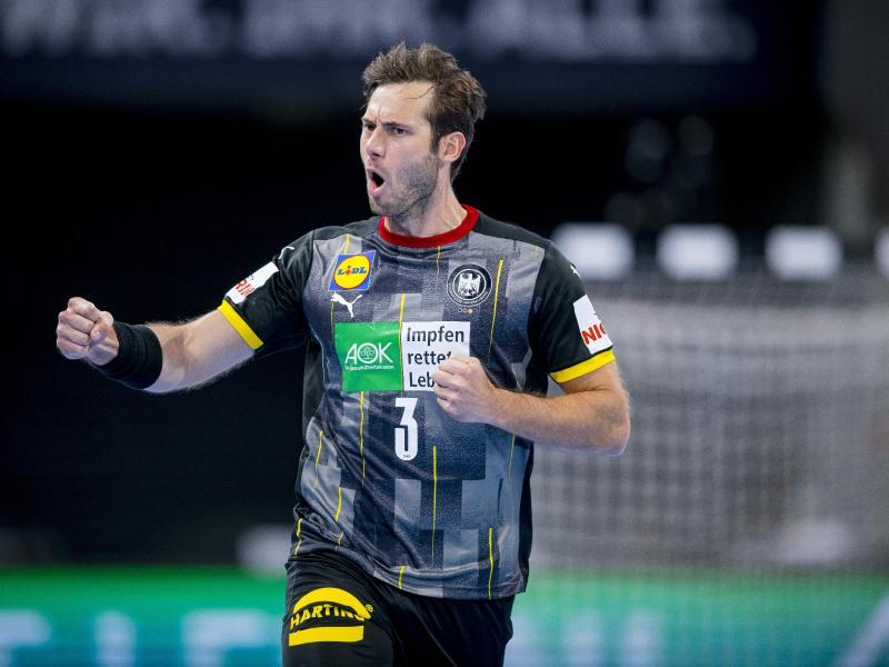 Handball-Star Uwe Gensheimer machte gegen Brasilien ein starkes Spiel. Foto: Sascha Klahn/dpa