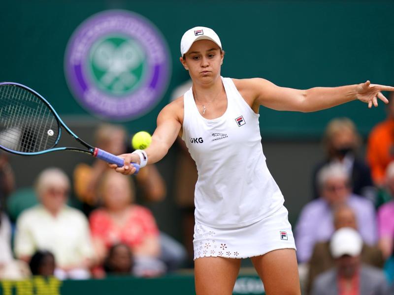 Wimbledonsiegerin 2021: Ashleigh Barty. Foto: Adam Davy/PA Wire/dpa