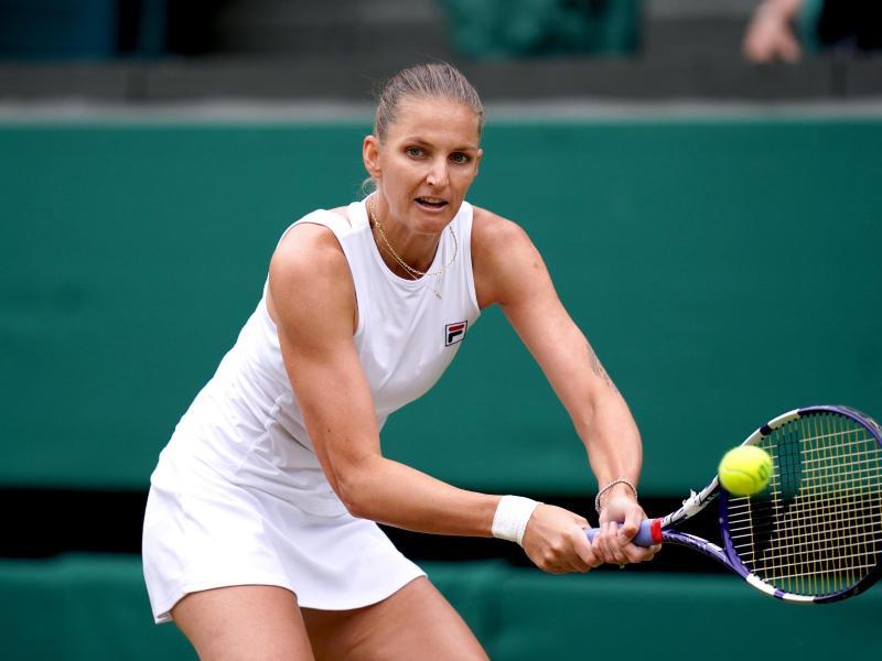 Die Tschechin Pliskova musste sich der Australierin Barthy im Finale mit 3:6, 7:6 (7:4), 3:6 geschlagen geben. Foto: Adam Davy/PA Wire/dpa