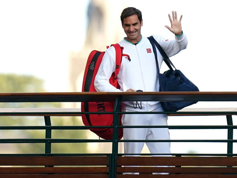 Wohin führt nach der Olympia-Absage der Weg von Roger Federer?. Foto: Adam Davy/PA Wire/dpa