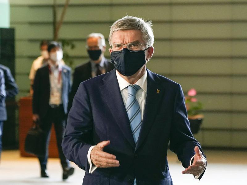 Zog eine Olympia-Absage nie in Betracht:IOC-Chef Thomas Bach. Foto: Kimimasa Mayama/Pool European Pressphoto Agency/AP/dpa