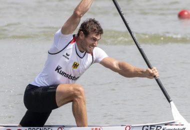 Die Rennkanuten um den dreimaligen Olympiasieger Sebastian Brendel zählen zu den Medaillen-Garanten. Foto: Zsolt Szigetvary/MTI/dpa