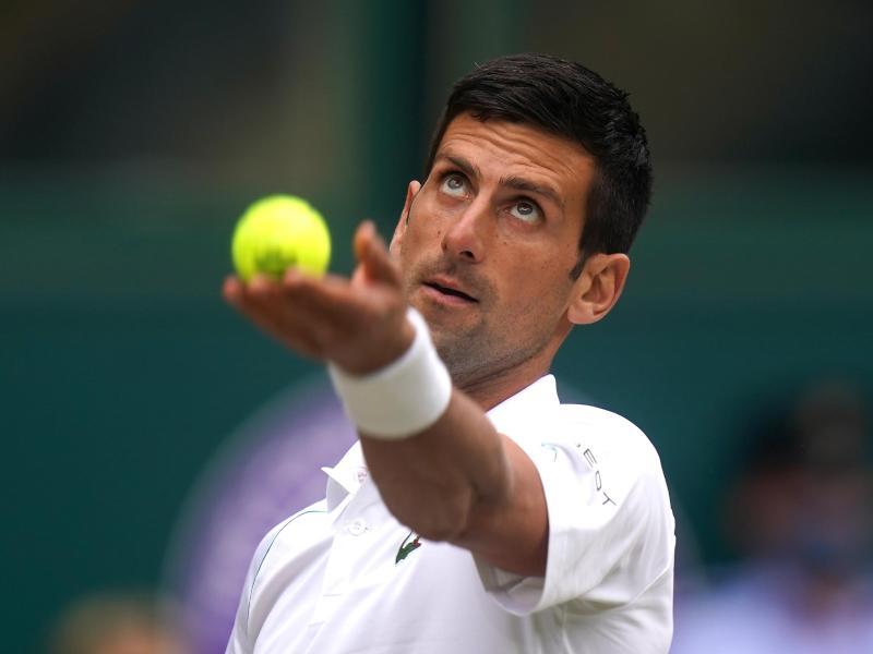 Wird für Serbien an den Olympischen Spielen teilnehmen: Novak Djokovic in Aktion. Foto: Adam Davy/PA Wire/dpa