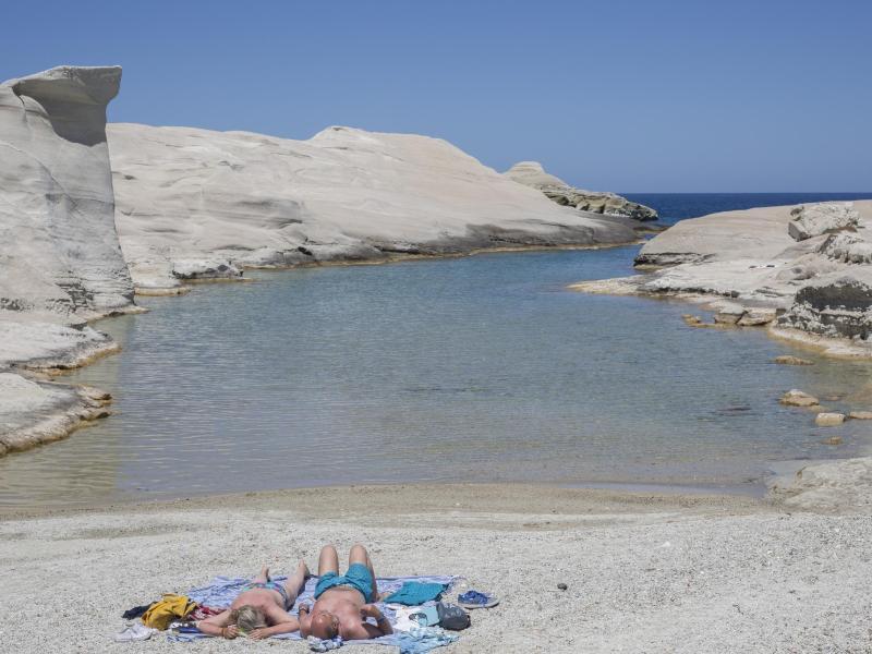 Die Bundesregierung stuft Griechenland als Corona-Risikogebiet ein. Foto: Socrates Baltagiannis/dpa