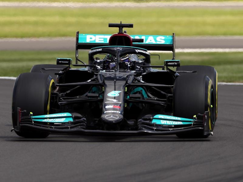 Schnellster in der Formel-1-Qualifikation: Lewis Hamilton. Foto: Bradley Collyer/PA Wire/dpa