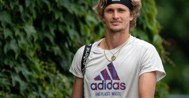 Sieht sich in Tokio als Mitfavoriten für eine Tennis-Medaille: Alexander Zverev. Foto: Jonathan Nackstrand/Aeltc Pool/PA Wire/dpa