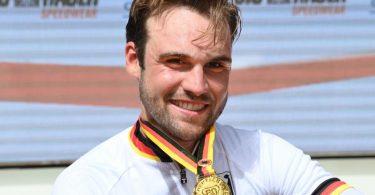 Deutscher Meister: Maximilian Schachmann hofft bei den Spielen in Tokio auf seine Medaillenchance. Foto: Bernd Weissbrod/dpa