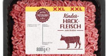 Der Hersteller Westfalenland Fleischwaren ruft ein Rinderhack-Produkt zurück, weil im Fleisch womöglich rote Kunststoff-Teilchen stecken könnten. Foto: Westfalenland Fleischwaren GmbH/dpa