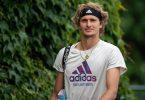 Alexander Zverev gehört beim olympischen Tennis-Turnier zu den Favoriten. Foto: Jonathan Nackstrand/Aeltc Pool/PA Wire/dpa