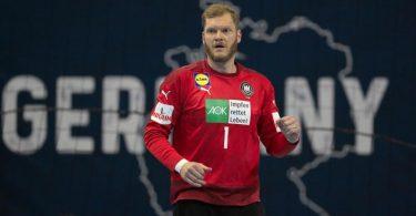Träumt mit fast 39 Jahren von der ersten Medaille bei Olympia: Handballtorhüter Johannes Bitter. Foto: Soeren Stache/dpa-Zentralbild/dpa