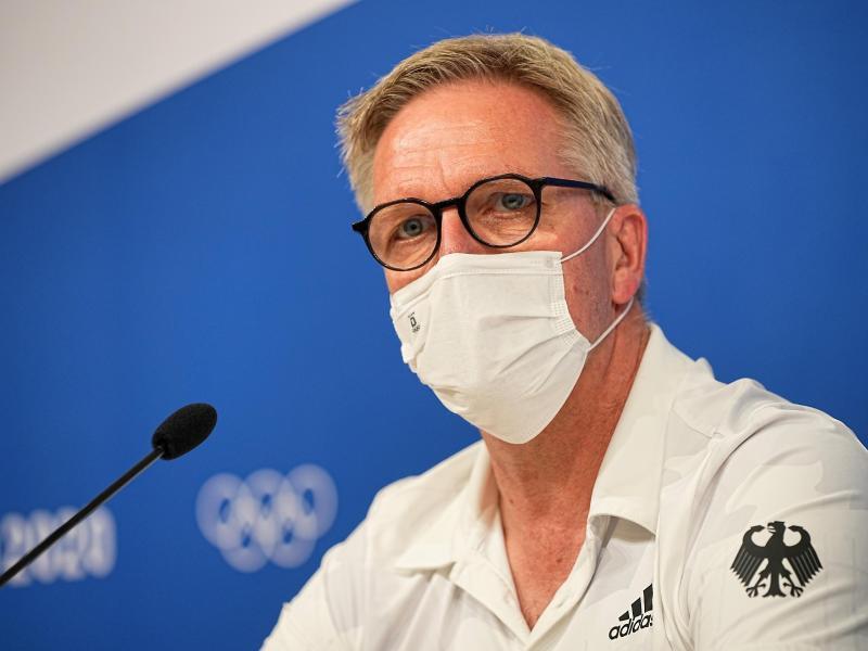 Chef de Mission des deutschen Olympia-Teams in Tokio: Dirk Schimmelpfennig. Foto: Michael Kappeler/dpa