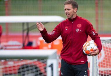 «Man sollte als Bayern München immer Spiele gewinnen wollen», sagt Trainer Julian Nagelsmann. Foto: Sven Hoppe/dpa
