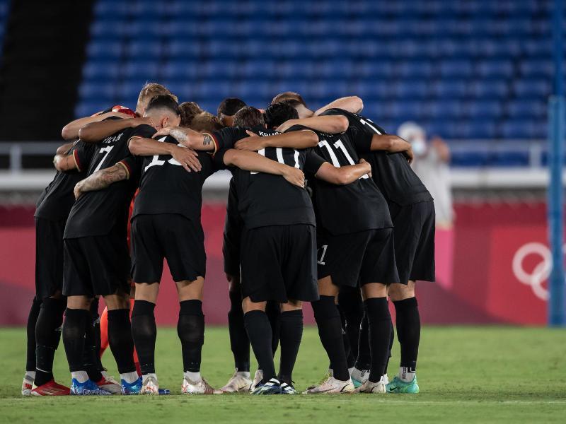 Die deutsche Mannschaft steht unter Druck. Foto: Swen Pförtner/dpa