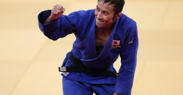 Naohisa Takato aus Japan gewann Judo-Gold. Foto: Jae C. Hong/AP/dpa